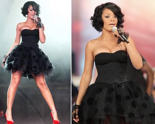 Mala crna haljina  RIHANNASHOW