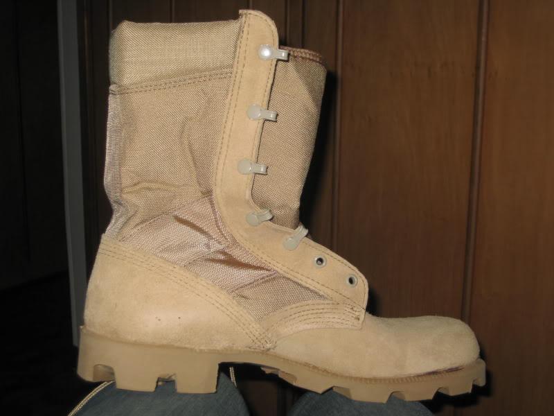 Botas militares Altama 100_0073