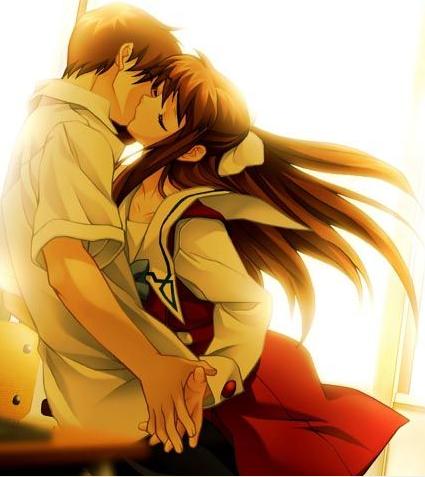 ~Romanticas...~ Anime-kiss