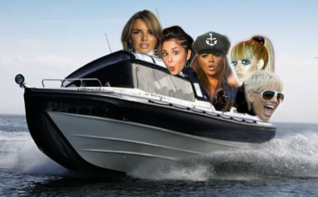 Diviértete con Girls Aloud (Fotos/Videos/Parodias) Frontofboat