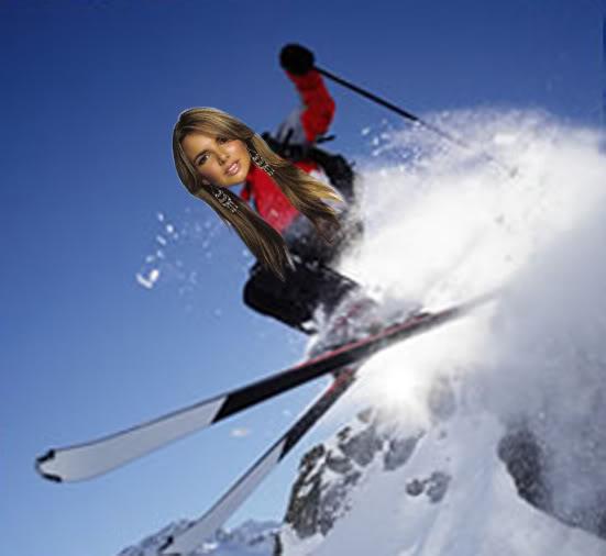 Diviértete con Girls Aloud (Fotos/Videos/Parodias) Skiing