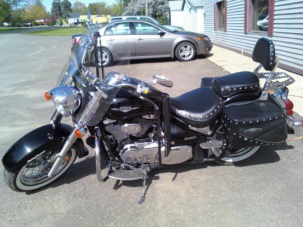 My Baby - The Road Queen .......... 2005 Suzuki C50T MyBike