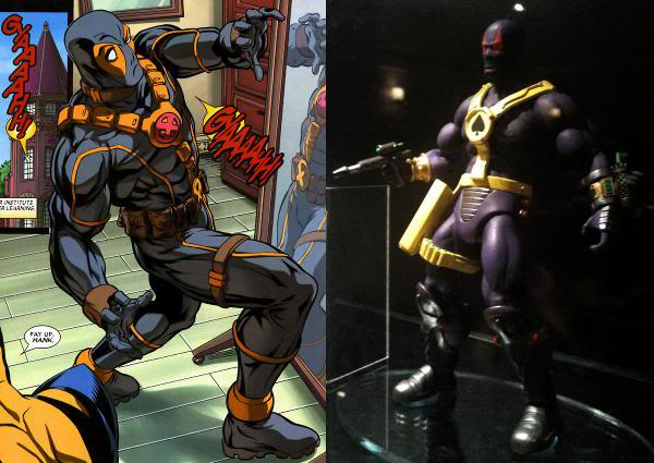 2012 April & May figure reveals from Power Con! DeadpoolSpector