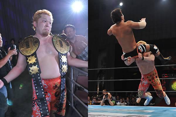 [Résultats] NJPW 40TH ANNIVERSARY ~ WRESTLING DONTAKU 03.05.2012 YanoIWGPtag