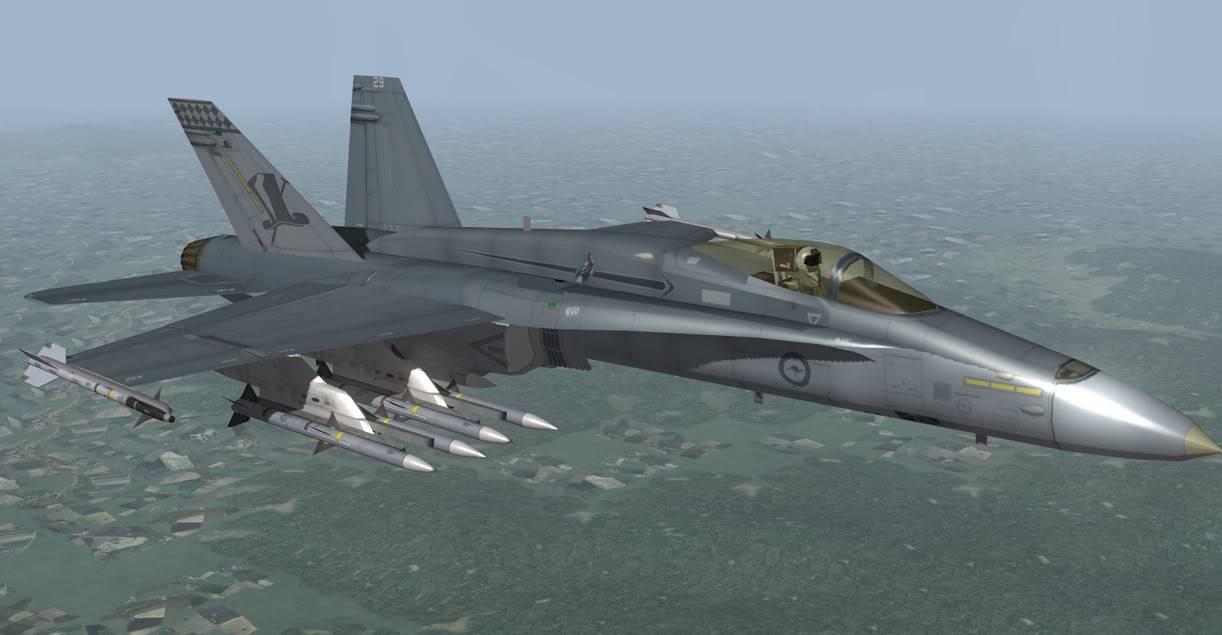 Falcon BMS RAAF75SqnF-18