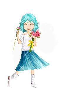 Mirar una hoja de personaje Flower