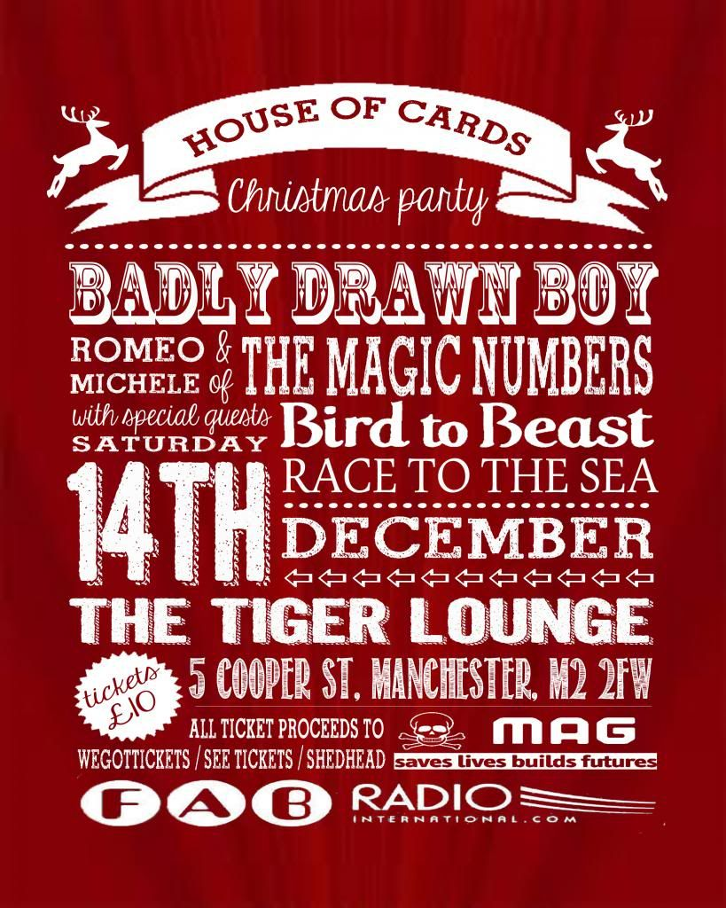 House of Cards Christmas Party featuring Badly Drawn Boy + The Magic Numbers Christmas-party-with-Numbers_zps53066c79