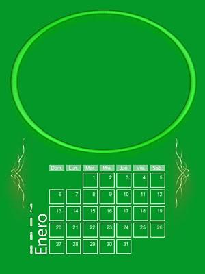Calendario 2008 de 12 meses individuales 01-Enero