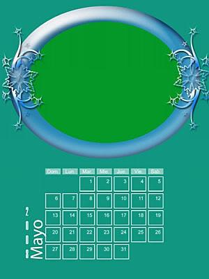Calendario 2008 de 12 meses individuales 05-May
