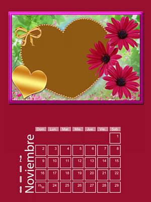 Calendario 2008 de 12 meses individuales 11-Noviembre2008
