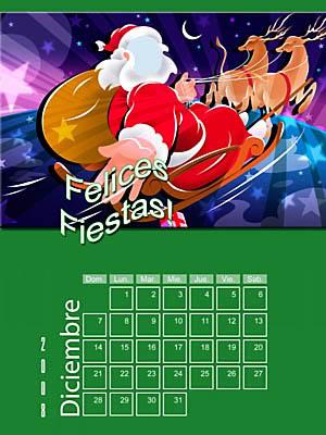 Calendario 2008 de 12 meses individuales 12-Deciembre2008