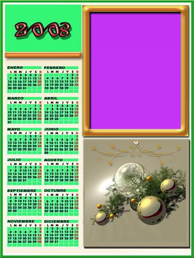 .:::Unas plantillas para Navidad GRATIS:::. CalendarioJB01