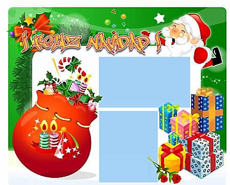 .:::Unas plantillas para Navidad GRATIS:::. TarjetaJB07
