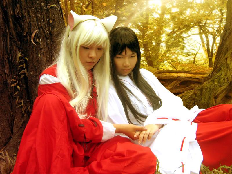 Cosplays de Inuyasha y R. Kenshin Forest