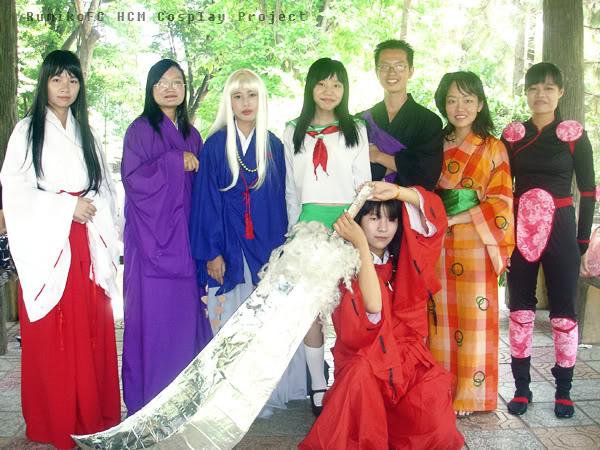 Cosplays de Inuyasha y R. Kenshin Group