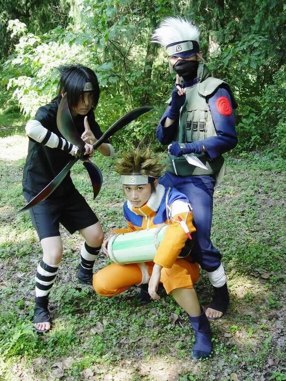 Cosplays de Naruto Group4