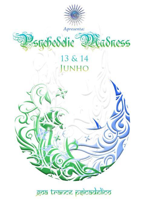 Luau Party: Psycadelik Goa Trance / 13 e 14 june Portugual Luaufrente