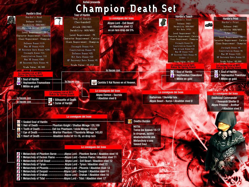 como hacer el death set! n.n ChampDS