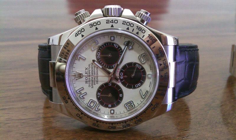 Vous arrive-t-il d'acheter la même montre avec des cadrans différents ? Daytona2