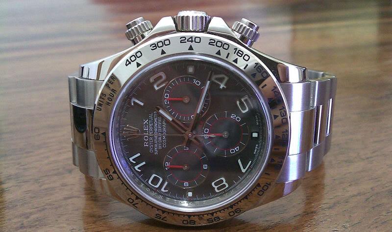 Vous arrive-t-il d'acheter la même montre avec des cadrans différents ? Daytona4