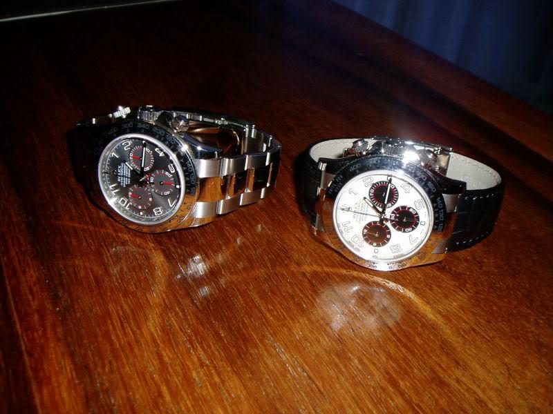 Vous arrive-t-il d'acheter la même montre avec des cadrans différents ? Daytona5