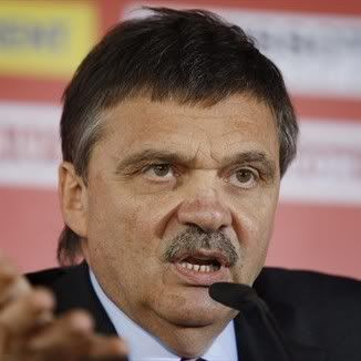 IIHF launches investigation of president Fasel ReneFasel