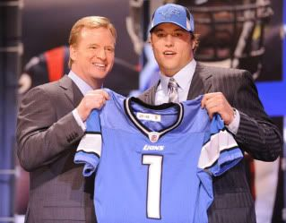 NFL Draft at Radio City in NY, NY Matthew-Stafford
