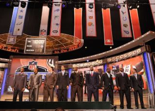 NFL Draft at Radio City in NY, NY Draftees