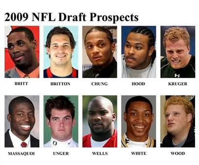 2009 NFL Draft Order: First round Draft order Pic1