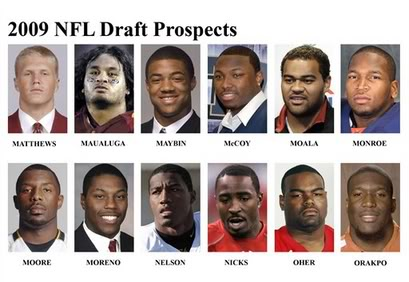 2009 NFL Draft Order: First round Draft order Pic2