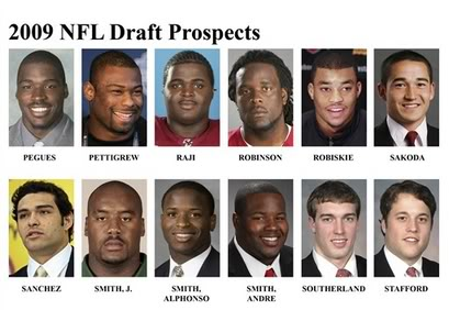 2009 NFL Draft Order: First round Draft order Pic3