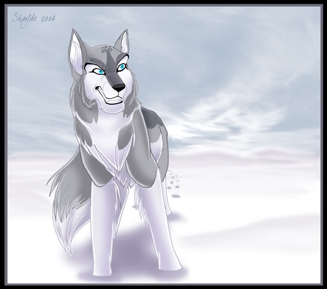 22+ Anime White Wolf With Blue Eyes Gif