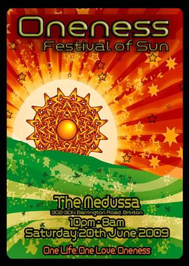 Oneness - Festival of the Sun, Brixton, London Oneness-3-1-1
