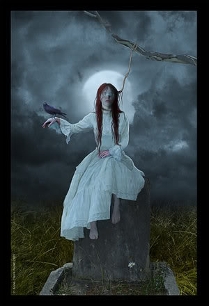 Cùng khám phá phong cách Gothic Waiting_the_death_by_Eireen