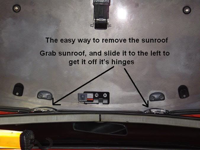 How to : S13 240sx Factory OEM Sunroof Shade (FB 89-94) Sunroofsunshade015
