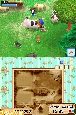 Harvest Moon Welcome! Wind's Bazaar 080926bokujo01