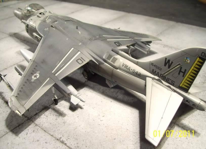 Hasegawa's 1/48th scale McDD AV8B-IIPlus Harrier AV8B02