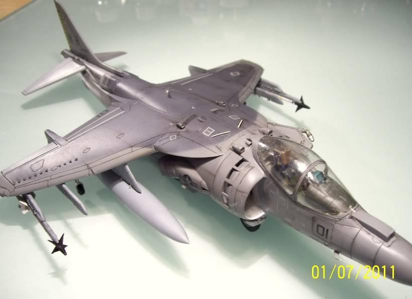 Hasegawa's 1/48th scale McDD AV8B-IIPlus Harrier AV8B05