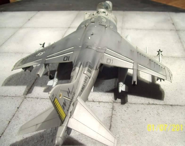 Hasegawa's 1/48th scale McDD AV8B-IIPlus Harrier AV8B10