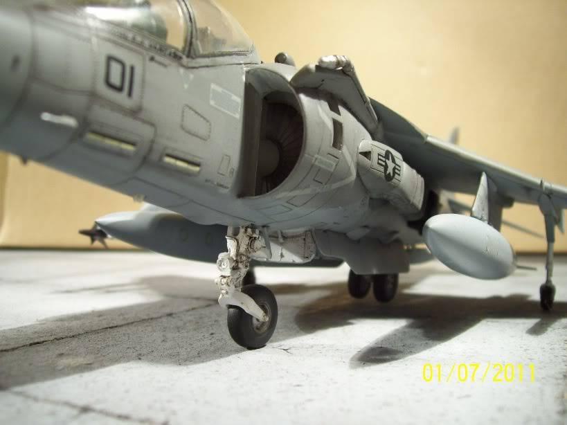 Hasegawa's 1/48th scale McDD AV8B-IIPlus Harrier AV8B12