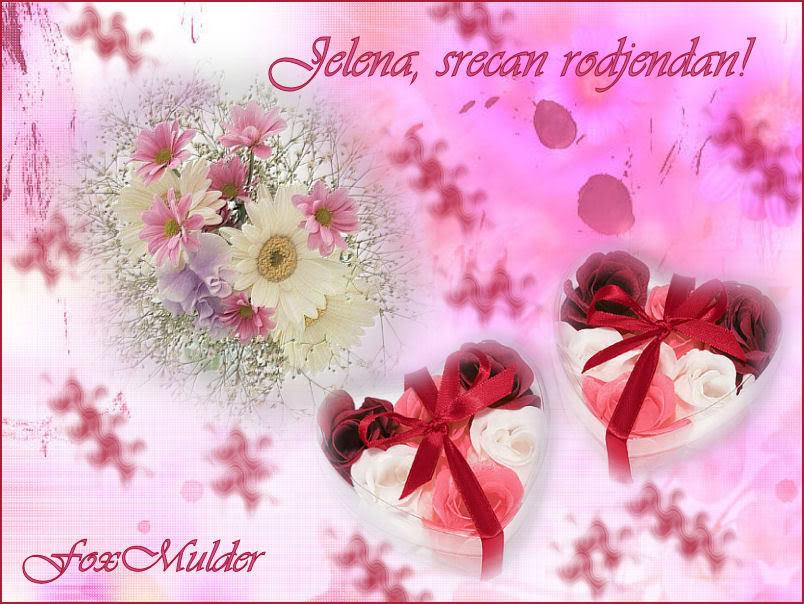 Jelena, srecan rodjendan! CestitkazaJelenu