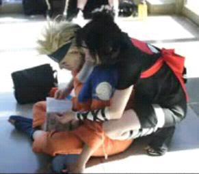 Cosplays de Naruto Sasunaru