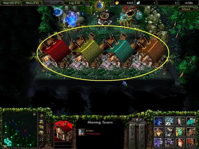 Defense of the ancients Dota1