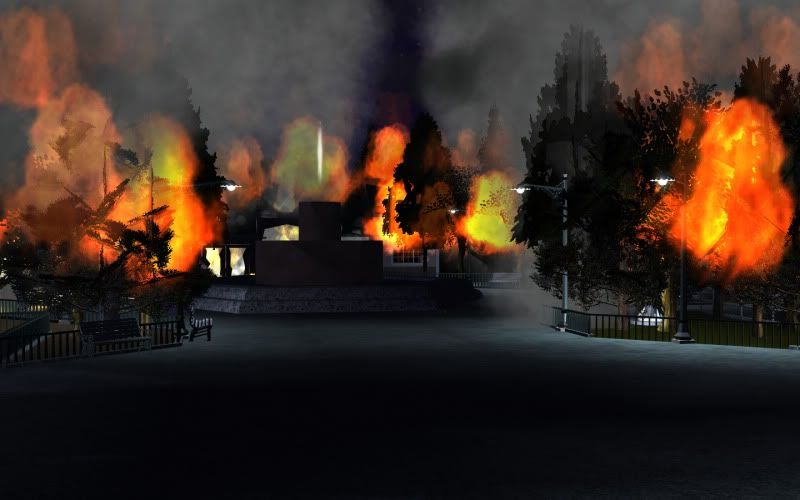 South-Point Pier Amusement Park Fire2