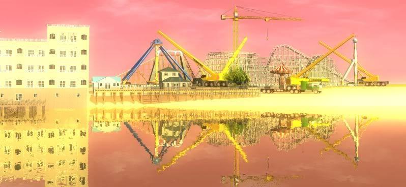 South-Point Pier Amusement Park Shot0117b