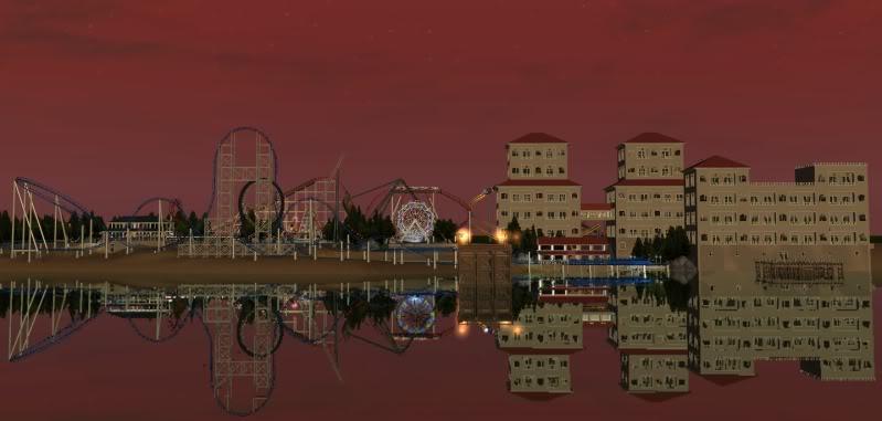 South-Point Pier Amusement Park Shot0123wide