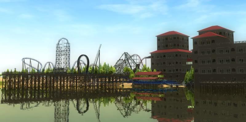 South-Point Pier Amusement Park Shot0124