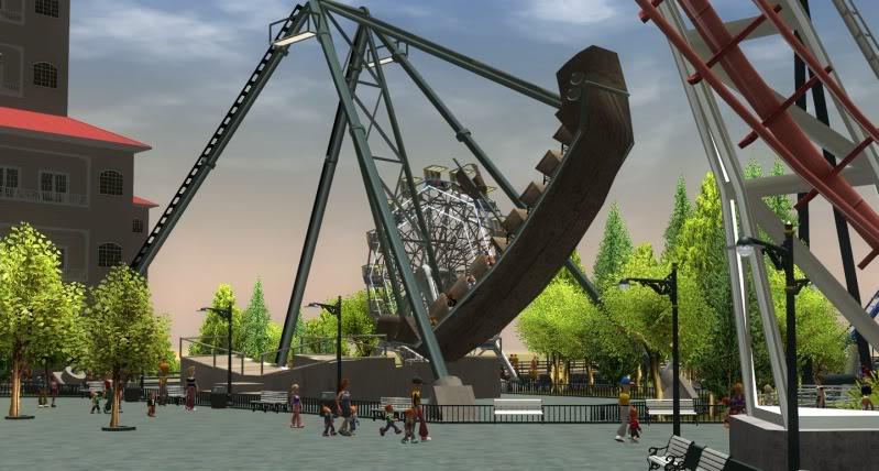 South-Point Pier Amusement Park Shot0134-3