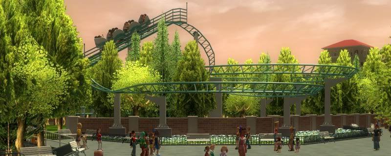 South-Point Pier Amusement Park Shot0208-1