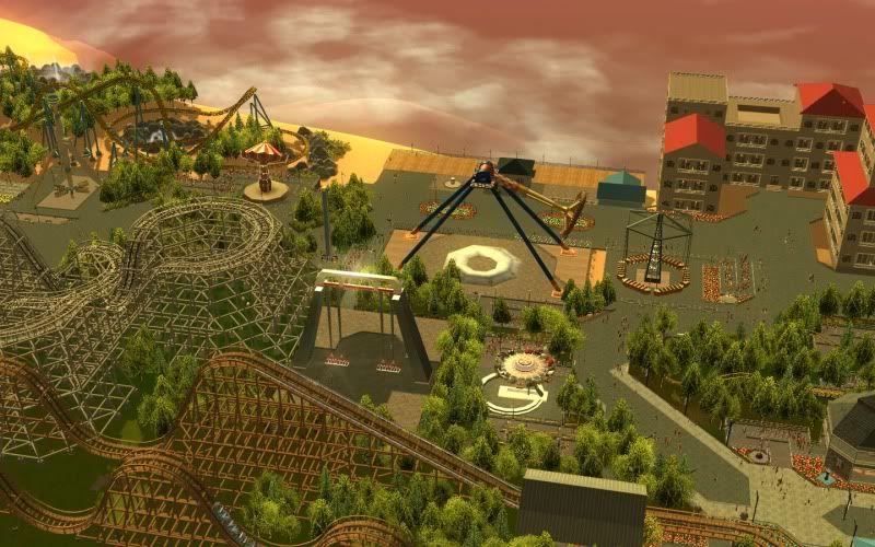 South-Point Pier Amusement Park Shot0218-1